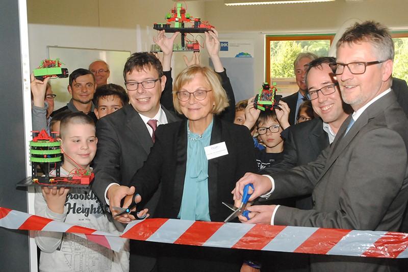 Eröffnung der 7. Jugend-Unternehmenswerkstatt in Schmalkalden