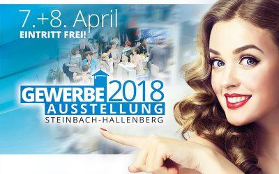 Gewerbevereinsausstellung Steinbach-Hallenberg vom 07.-08.04.2018